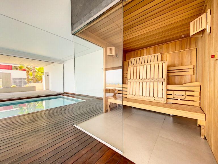 sauna appartementencomplex